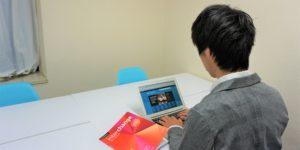 名古屋_英会話コーチング_オンライン学習風景
